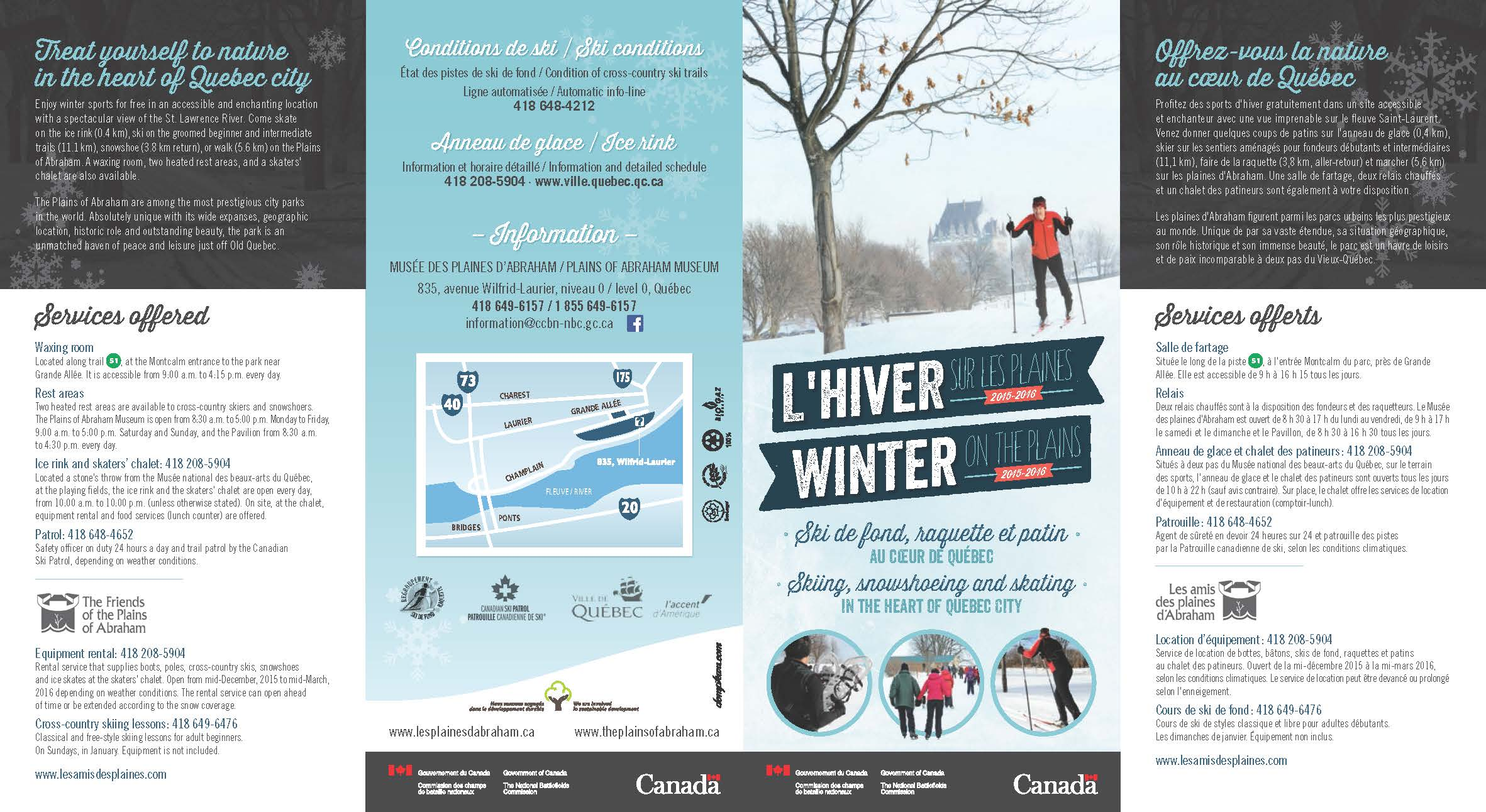 Dépliant hiver CCBN