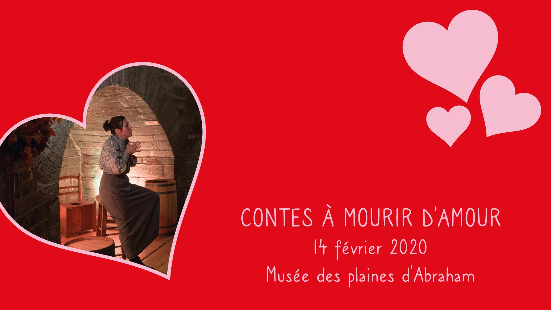 Soirée de contes pour la Saint-Valentin à Québec